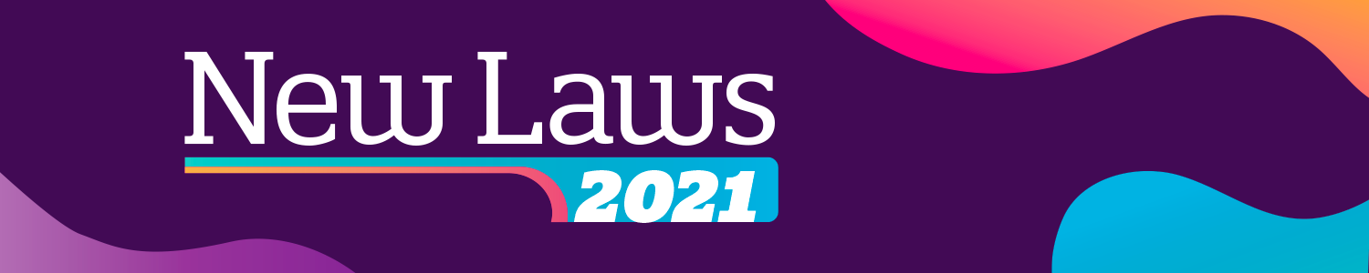 New Laws in 2021
