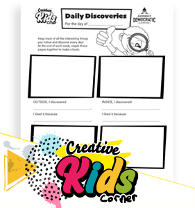 Daily Discoveries Activity Sheet