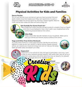 Physical Activities for Kids and Families